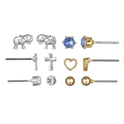 Mixit Delicate 7.1mm Stud Earrings