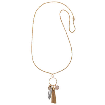 Mixit Delicate Womens Pendant Necklace