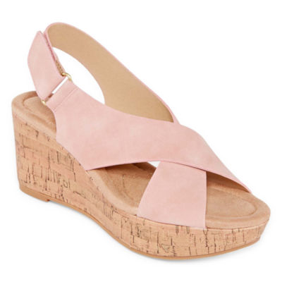 CL by Laundry Womens Darcy Wedge Sandals