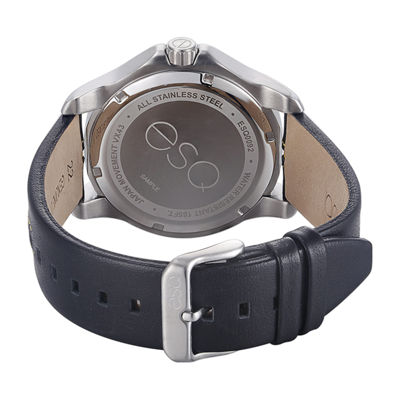 Esq Mens Black Strap Watch-37esq009201a