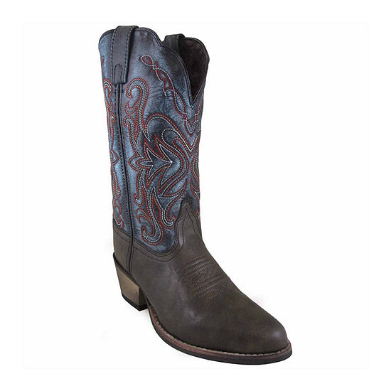 Smoky Mountain Womens Cowboy Boots Pull-on