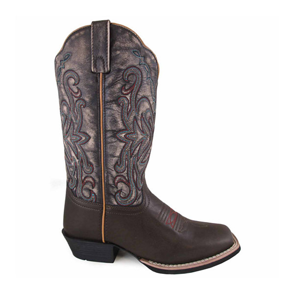 "Smoky Mountain Women's Fusion #2 12"" Leather Cowboy Boot"