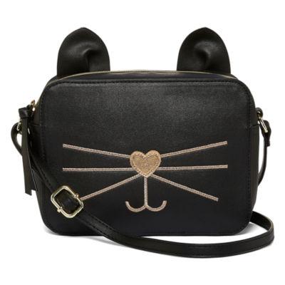 T-Shirt & Jeans Cat Crossbody Bag
