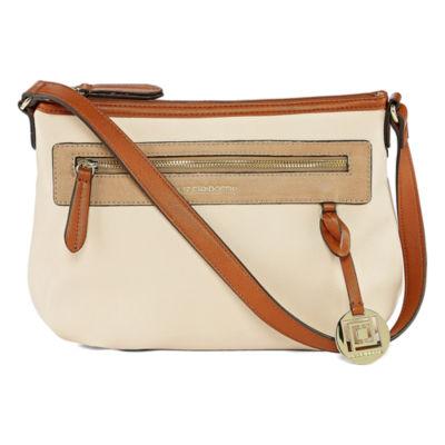 Liz Claiborne Jes Top Zip Shoulder Bag