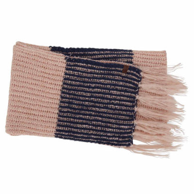 Keds Boucle Stripe Oblong Cold Weather Scarf