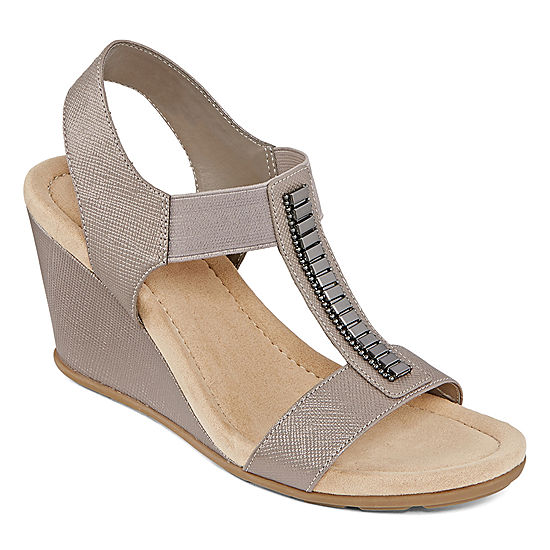 6241d3100adc St Johns Bay Lamu Womens Wedge Sandals JCPenney