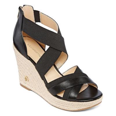 Liz Claiborne Helena Womens Wedge Sandals