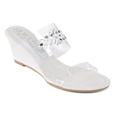 New York Transit Womens Fan Of Mine Wedge Sandals