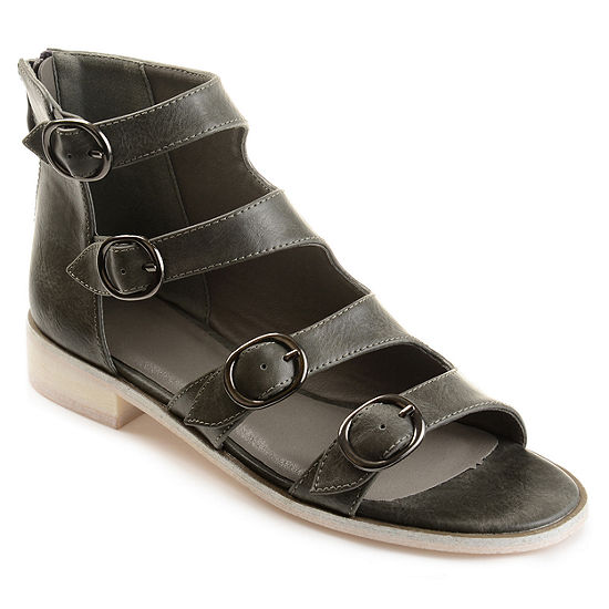 Journee Collection Womens Oakly Flat Sandal