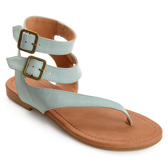 Journee Collection Kyle Womens Flat Sandals