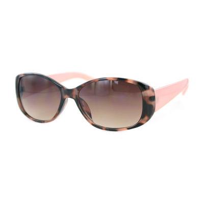 Glance Full Frame Rectangular UV Protection Sunglasses-Womens