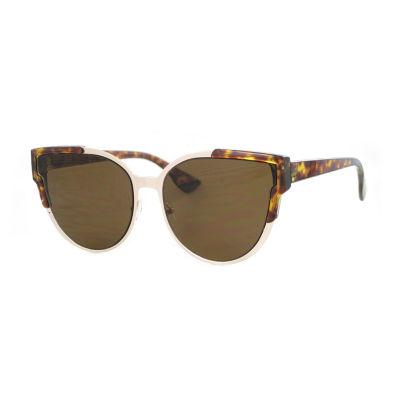 Glance Full Frame Cat Eye UV Protection Sunglasses-Womens