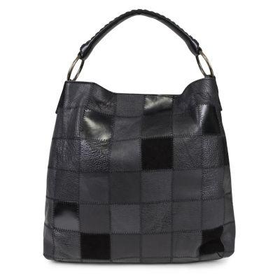 Mundi Rio Leather Hobo Bag