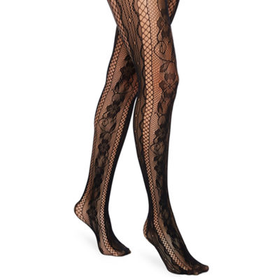 Mixit Floral Fishnet Tights