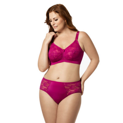 Elila Lace Softcup Full Coverage Bra