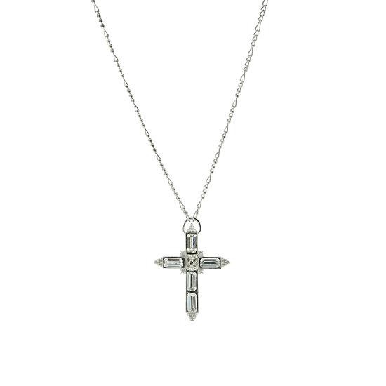 1928 Religious Jewelry Womens Cross Pendant Necklace