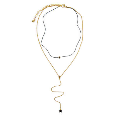 Carole Womens Round Choker Necklace