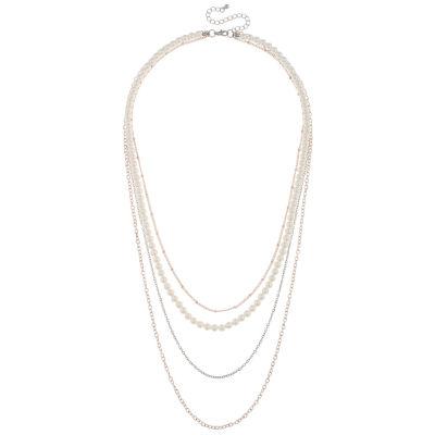 Decree Womens 8-pc. Round Necklace Set