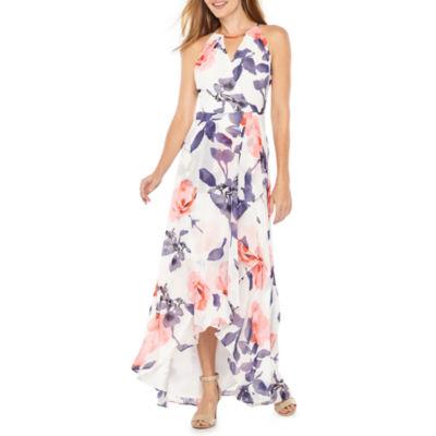 Melrose Sleeveless Floral Maxi Dress