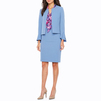 Chelsea Rose 3/4 Bell Sleeve Suit Jacket
