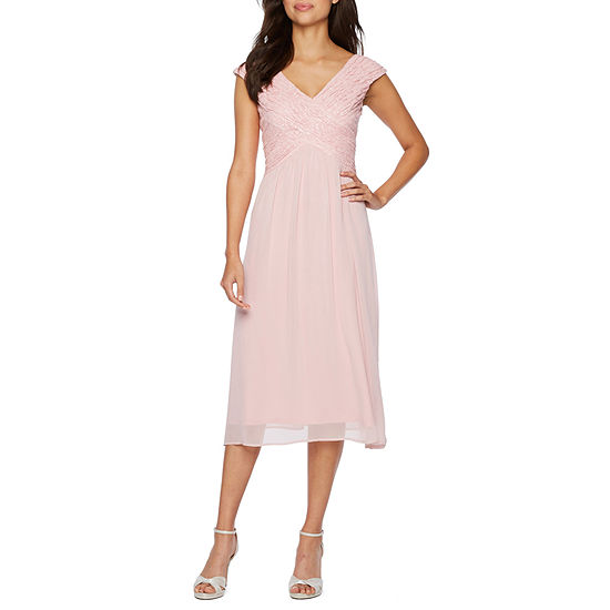 d8444ef50162 Melrose Sleeveless Embellished Fit   Flare Dress - JCPenney