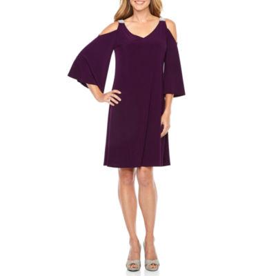 MSK 3/4 Sleeve Party Dress