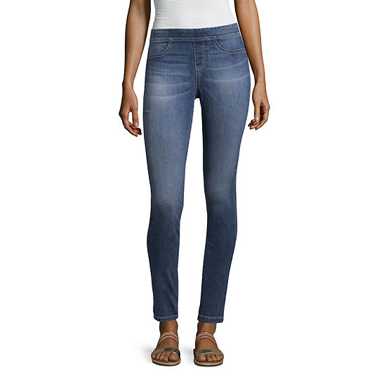 a.n.a Skinny Leg Pull On Jean - Misses & Petites