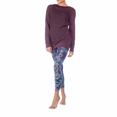 PL Movement By Pink Lotus Tie Dye Jersey Leggings