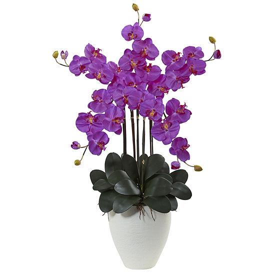 Giant Phalaenopsis Orchid Silk Arrangement