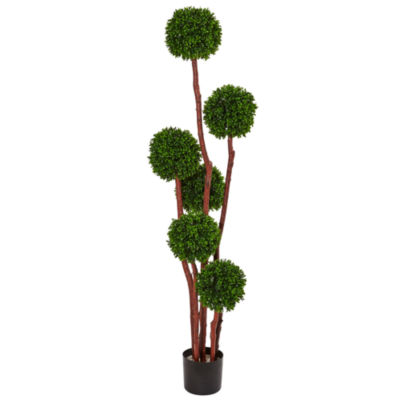 5' Boxwood Artificial Tree UV Resistant (Indoor/Outdoor)
