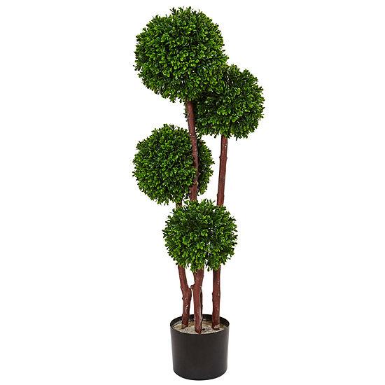 3' Boxwood Topiary Artificial Tree UV Resistant(Indoor/Outdoor)