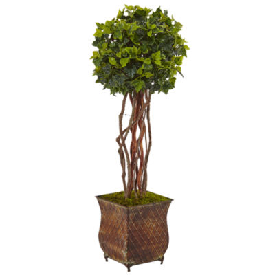 "30"" English Ivy Artificial Tree in Planter; UV Resistant (Indoor/Outdoor)"