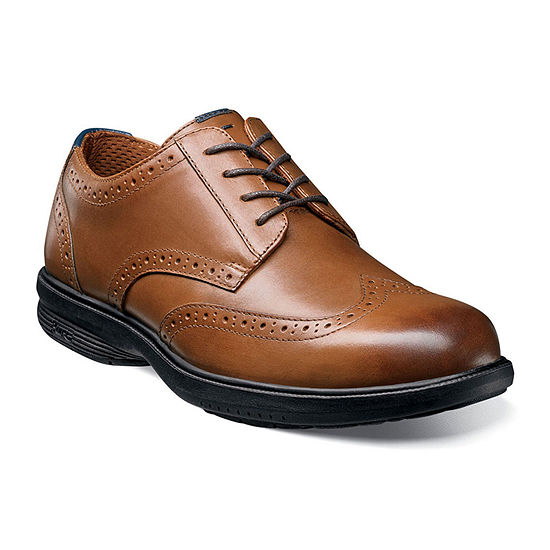 Nunn Bush Maclin St Men's Wingtip Dress Oxford Shoes