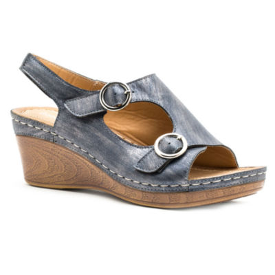 GC Shoes Melba Womens Wedge Sandals