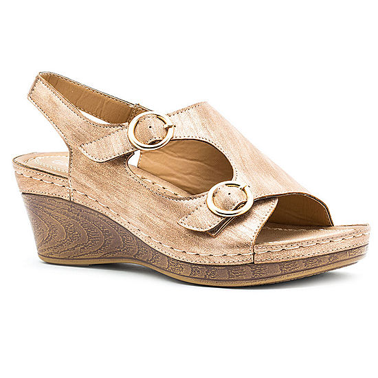 70eb85cf9f007 GC Shoes Womens Melba Wedge Sandals - JCPenney