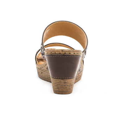 GC Shoes Perry Womens Wedge Sandals