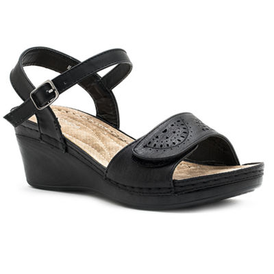 GC Shoes Marina Womens Wedge Sandals