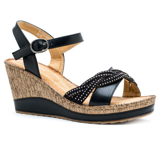 GC Shoes Moxie Womens Wedge Sandals