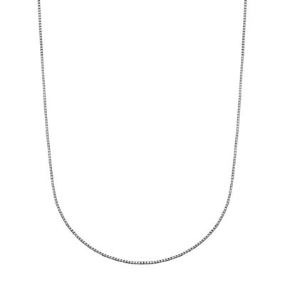 10K Gold Box 20 Inch Chain Necklace