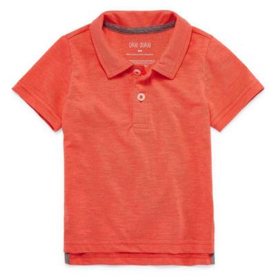Okie Dokie Short Sleeve Polo Shirt - Baby Boy NB-24M