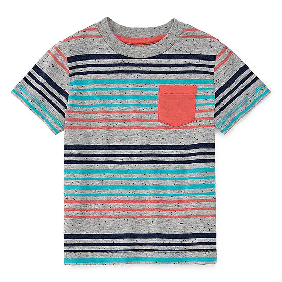Okie Dokie Boys Short Sleeve T Shirt Toddler