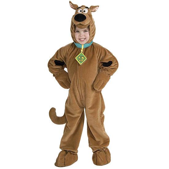 Scooby Doo Super Deluxe Velour Toddler (2t-4t) Costume Boys Costume