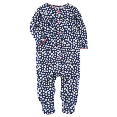 Carter's Long Sleeve Sleep and Play - Baby Girls