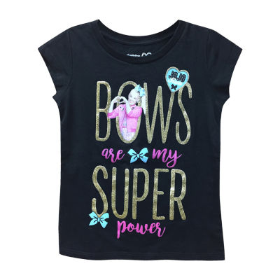 """Jojo """"Bows Are My Super Power"""" Graphic T-Shirt- Girls' 7-16"""