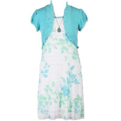 Speechless Sleeveless Shift Dress Girls