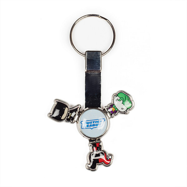 Justice League Spinning Key Chain