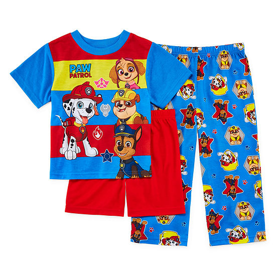 Boys 3-pc. Paw Patrol Pajama Set Big Kid