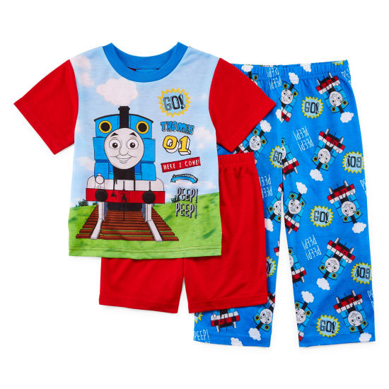Thomas The Train 3-pc. Thomas and Friends Pajama Set Boys