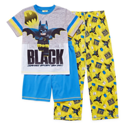 3-pc. Lego Batman Pajama Set Boys