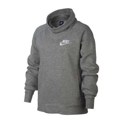 Nike Long Sleeve Sweatshirt - Big Kid Girls